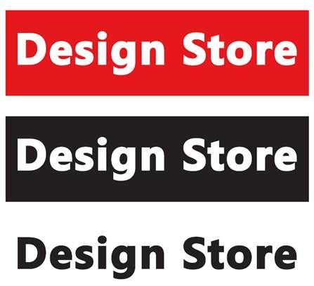 Design – store